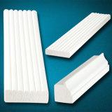 Garniture en PVC blanc imperméable et pour le plafond de moulage