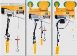 MiniKraan van de Verkoop van het Hijstoestel van de Machine van het Bouwmateriaal de Opheffende Elektrische Hete, Hijstoestel van de Kabel van de Draad van de PA het Elektrische, 110V Hijstoestel 250kg van de Ketting van PA250 het Mini Elektrische