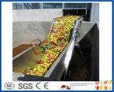 La línea de procesamiento de jugo de manzana