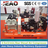 Compressor de ar móvel Diesel do pistão da mineração do cavalo-força 20 para a venda