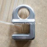 hecho personalizado aluminio colado y aluminio moldeado a presión las piezas de forja