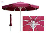 Hz-Um49 10FT Sprung-Regenschirm-im Freienregenschirm-Garten-Patio-Regenschirm