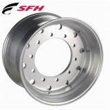 22,5X8.25 Cubo do perno de liga forjadas de alumínio polido pilotado roda do veículo com pneus 11R22.5
