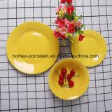 Яркий цветной керамическая посуда для ресторанов