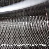 Tissu de fibre de carbone 3k pour FRP