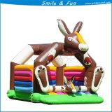 高品質のウサギの膨脹可能なスライド、膨脹可能な跳ね上がり