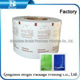 El papel de aluminio de papel para embalaje de toallitas de limpieza de limón