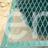 Puder beschichtetes erweitertes Metallineinander greifen für Lokalisierungs-Zaun