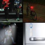 Clips gratuits pour les vêtements ou les surfaces magnétiques Lampe légère Lampe de secours