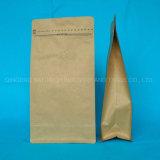Junta cuádruple refuerzo lateral de la bolsa de embalaje de plástico para el café 500g Bolsa de embalaje de alimentos
