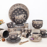 Bulk Packing Individual Stars Decorate Ceramic Bowl의 안전