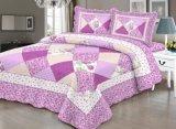 Jardim 3 Peças Vintage Floral Patchwork Reversível Consolador Bed cobrir retalhos definido