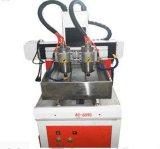 El chino de metal nuevo estilo de grabado CNC Router con Ncstudio Sistema de control de placa de metal tallado