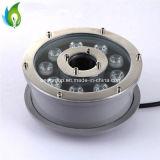 12W luz al aire libre subacuática de Epistar LED de la lámpara de la fuente del poder más elevado LED
