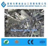Desecho de aluminio 6063 de la pureza elevada con precio de fábrica