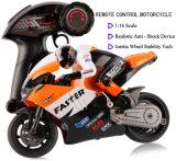 259806-2.4GHz Radio Control 1 - 16 moto à échelle avec dispositif de roue Inertia + Absorbeur de choc réaliste