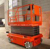 Elevatore mobile idraulico a pile automatico della piattaforma con CE