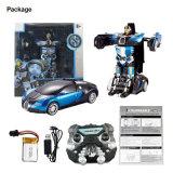 043663-2.4G RC Remote Control Deformation Robot