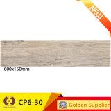 Строительный материал из дерева с нетерпением Мэтт фарфор керамические плитки пола (CP6-33)