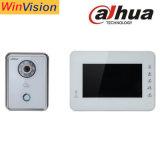 Video citofono di Dahua 7 citofono a distanza di controllo di portello di sorveglianza di Ipc della macchina fotografica del kit HD CMOS del IP di pollice con il telefono mobile APP