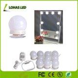 Kit della stringa della lampadina dello specchio LED di trucco della stanza da bagno di vanità di Hollywood