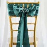 Silla de raso turquesa guillotinas de atar los arcos Catering Decoración de Boda
