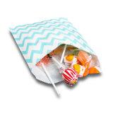 Цветные конфеты полосатый сладкие подарки бумаги стороной мешки (YH-PGB142)