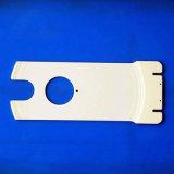 産業アルミナの陶磁器の高温絶縁体は青い陶磁器の版をめっきする