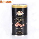 中国の製造者の包み、金属の茶包装金属のコーヒーのための円形の錫ボックス