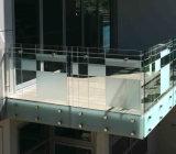 LEIDENE de het Lichte Binnenlandse Balustrade/Traliewerk van het Balkon/Leuning van de Klem van het Glas Inox