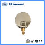 Leve e durável com glicerina clara ou óleo de silicone preenchido o medidor de pressão de água do ar Digital