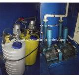 噴霧の排水処理のプラント
