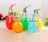 Großhandelsform-Glasglühlampe formte Flaschen-Getränk-Cup