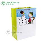 Comercio al por mayor baratos Customzied Navidad bolsa de regalo bolsa de papel para regalo