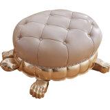 Ottomano di cuoio per la mobilia del salone (85)