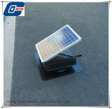 20W 9дюйм солнечной энергии постоянного тока вентилятором на потолке с перезаряжаемых аккумуляторов