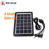 6V 3W портативная солнечная панель для зарядки мобильного телефона бесплатно