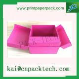 OEM personalizados regalo de papel recubierto de gran capacidad de verificación de cosméticos varios