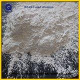 白い溶かされたアルミナの砂、屑および粉