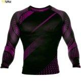 Abbigliamento Sportivo All'Ingrosso Abbigliamento Atletico Sublimazione Compression Camicie