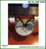 Équipement électronique d'étiquetage des matériaux Équipement d'essai d'inflammabilité
