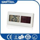 Thermomètre numérique solaire de réfrigération industrielle blanche