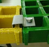 Mini reja moldeada del acoplamiento del acoplamiento FRP/GRP fibra de vidrio doble