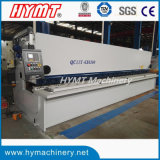 QC11Y-8X6000タイプ油圧ギロチンの金属のせん断機械または版の打抜き機