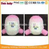 중국에서 기저귀 제조자 높은 쪽으로 풀 아기를 착용하는 아기 기저귀