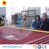 Het aangemaakte Glas Mcahine/hardt de Oven van het Glas