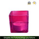 Würfel-Votive Kerze-Glashalter für Hauptdekoration