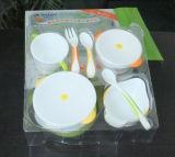 Doos van het HUISDIER van de douane de Plastic Vouwende met Dienblad van de Blaar van de Druk het Duidelijke voor de Producten van de Baby