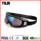 Ynjn Outdoor UV400 Sport Mirror Lentes Ski Goggle (YJ-J124)