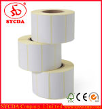 Autocollant de papier thermique personnalisée Étiquette adhésive